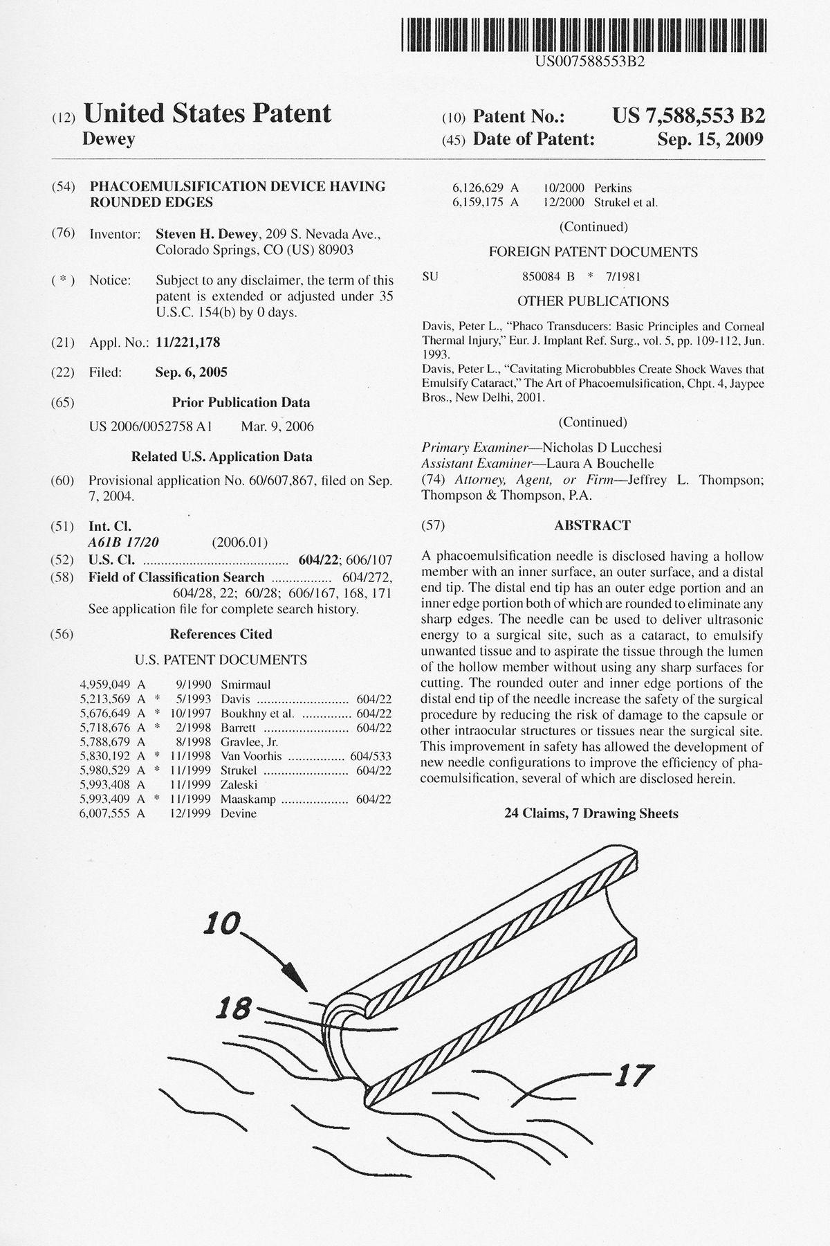 Dewey Patent