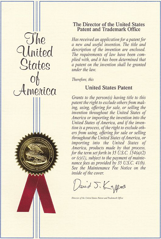Dewey Patent Cover